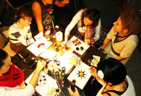 Üvegfestés - Tematikus tanfolyamok