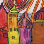 Hundertwasser - Várakozó házak nagy_resize