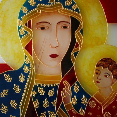 Csesztohovai Szűz Mária sekrestye ajtó