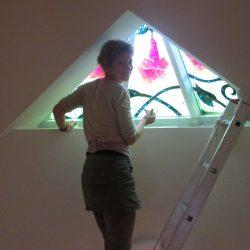 Helyzetek, amelyeket  nem szoktunk nagy dobra verni…avagy ablakfestő kalandok